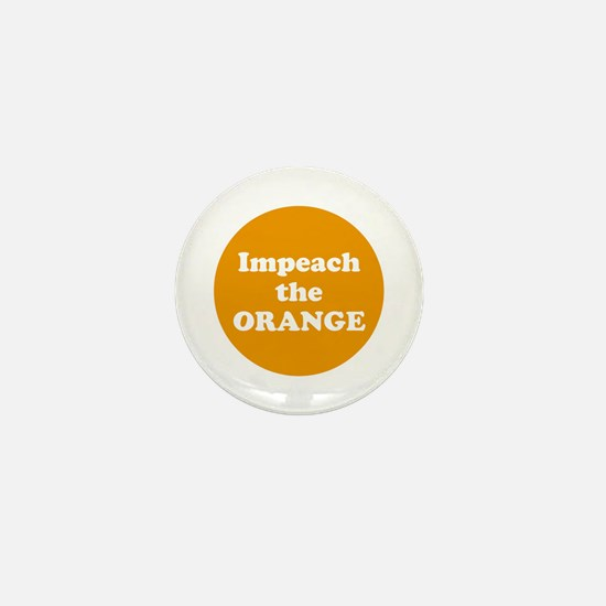 Impeach the orange Mini Button