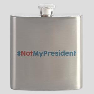 Not My President Flask
