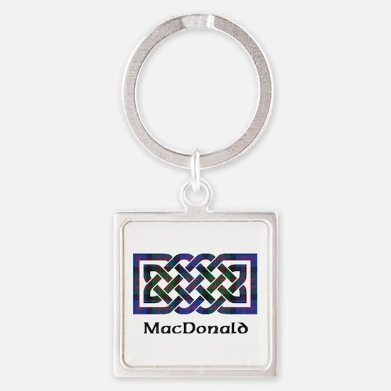 Knot - MacDonald Square Keychain