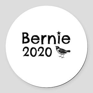Bernie! Round Car Magnet