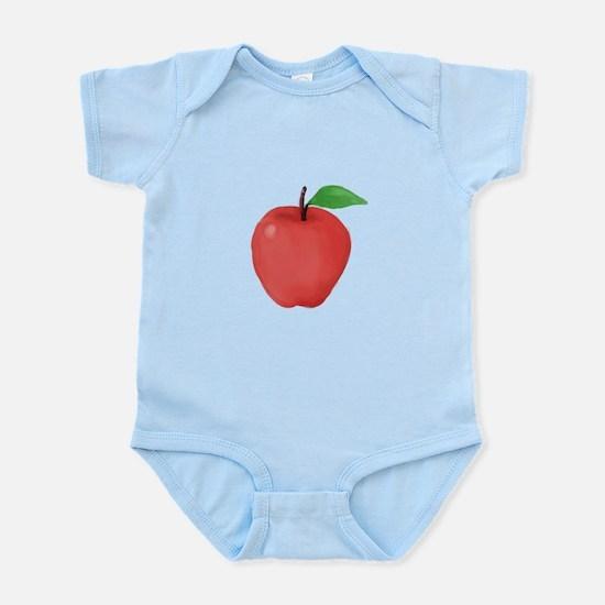 Apple Watercolor Body Suit
