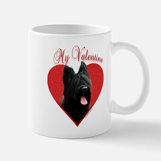 Briard Valentine Mug