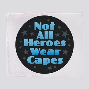 Hereos Capes Throw Blanket