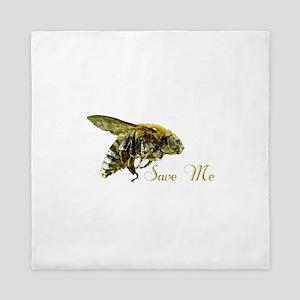 Save Me Bee Queen Duvet