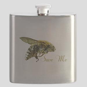 Save Me Bee Flask