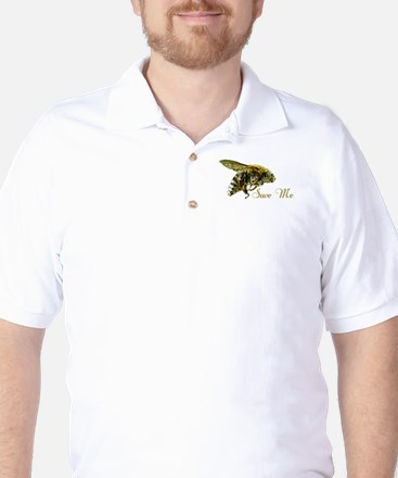 Save Me Bee Golf Shirt