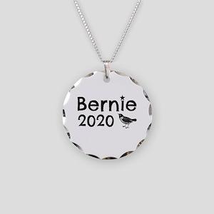 Bernie! Necklace Circle Charm