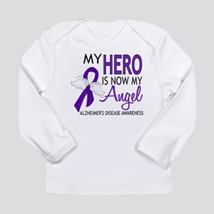 Alzheimers Hero Now My Ange Long Sleeve T-Shirt
