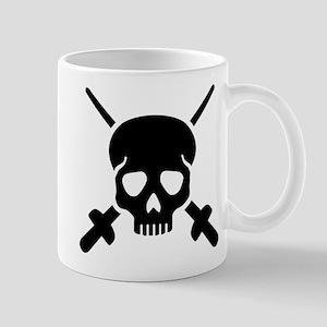 Fencing skull Mug