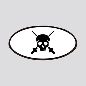Fencing skull Patch