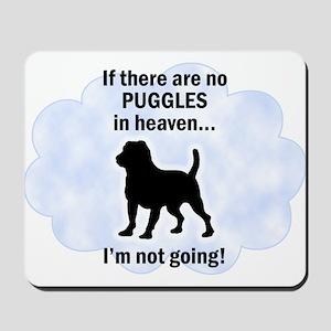 Puggles In Heaven Mousepad
