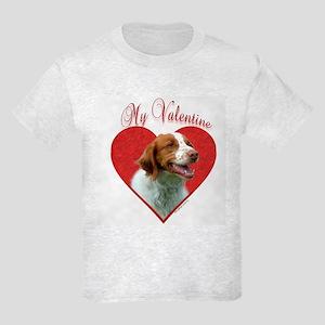 Brittany Valentine Kids Light T-Shirt