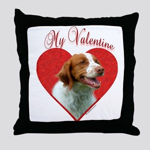 Brittany Valentine Throw Pillow