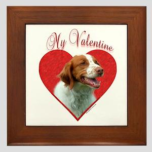 Brittany Valentine Framed Tile