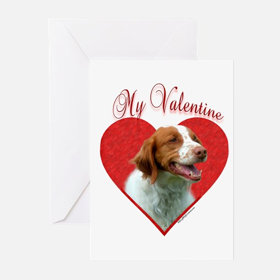 Brittany Valentine Greeting Cards (Pk of 10)