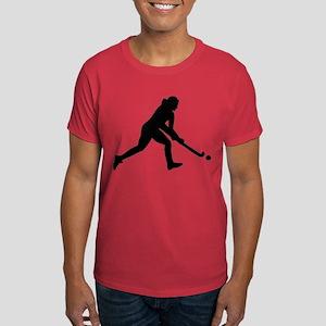 Field hockey girl Dark T-Shirt