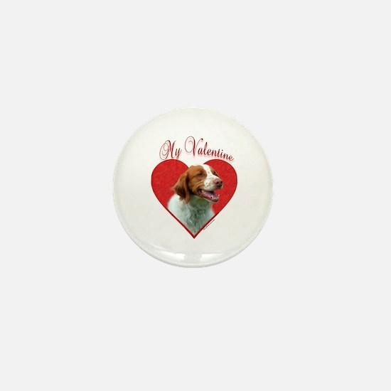 Brittany Valentine Mini Button