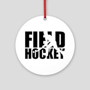 Field hockey Round Ornament