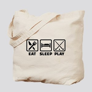 Eat sleep play field hockey Tote Bag