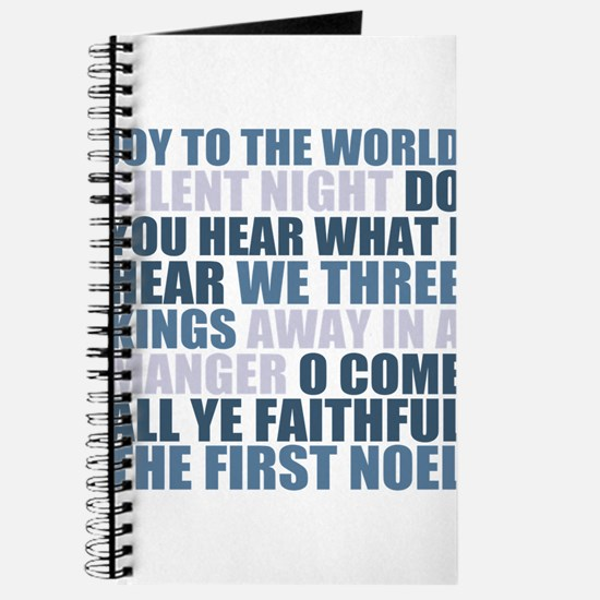 Christmas Songs Journal
