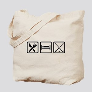 Eat sleep field hockey Tote Bag