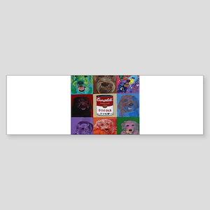 Doodle Soup Bumper Sticker
