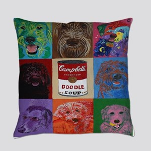 Doodle Soup Everyday Pillow
