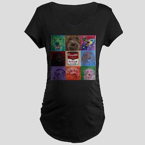 Doodle Soup Maternity T-Shirt