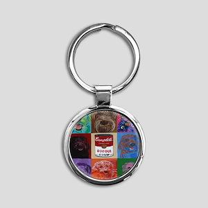 Doodle Soup Keychains