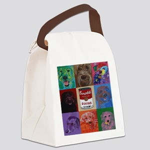Doodle Soup Canvas Lunch Bag