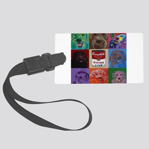 Doodle Soup Luggage Tag