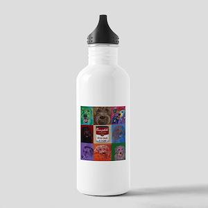 Doodle Soup Water Bottle