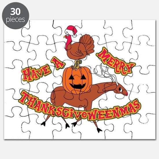 Merry Thanksgivoweenmas Puzzle