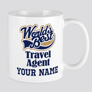 Travel Agent Personalized Gift Mugs