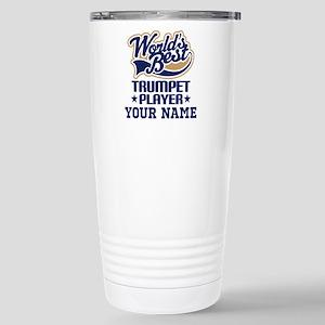 Trumpet Player Personalized Gift Travel Mug
