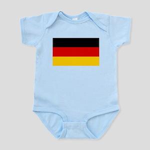 Flag of Germany - Bundesflagge und Hande Body Suit