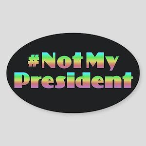 Political Rainbow Sticker