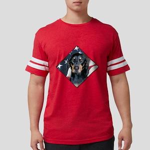 Black & Tan Flag 2 T-Shirt