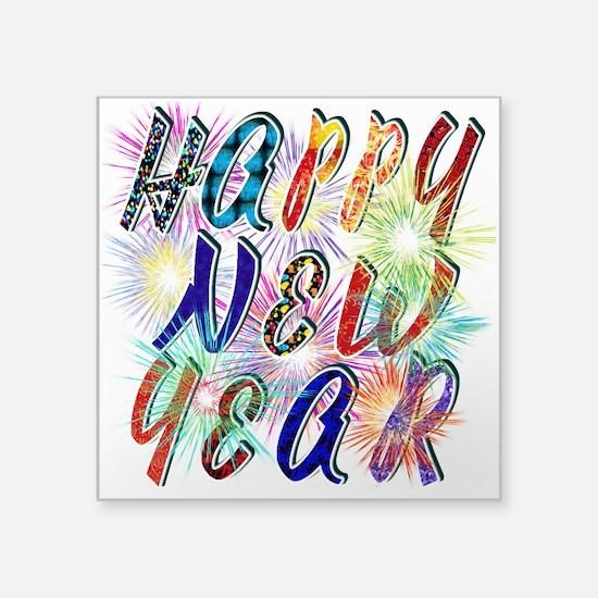 Happy New Year Works Sticker