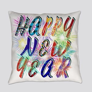 Happy New Year Works Everyday Pillow