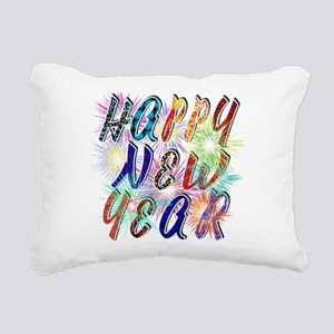 Happy New Year Works Rectangular Canvas Pillow