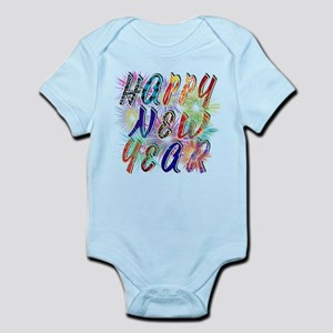 Happy New Year Works Body Suit