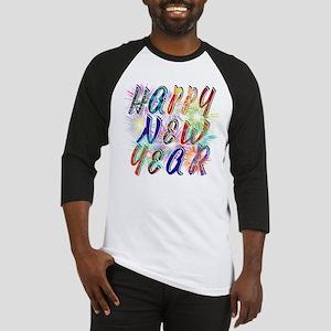 Happy New Year Works Baseball Jersey