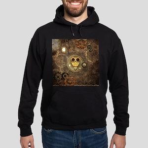 Awesome steampunk owl with clocks Sweatshirt