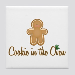 Cookie In Oven Tile Coaster