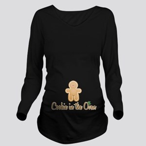 Cookie In Oven Long Sleeve Maternity T-Shirt