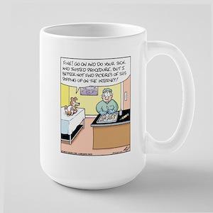 Dog Internet Neuter Large Mug