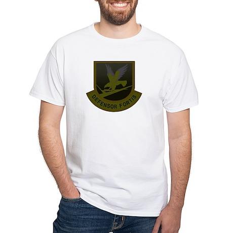 Subdued Defensor Fortis White T-Shirt