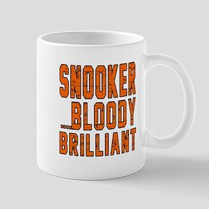 Snooker Bloody Brilliant Designs Mug