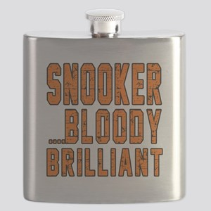 Snooker Bloody Brilliant Designs Flask